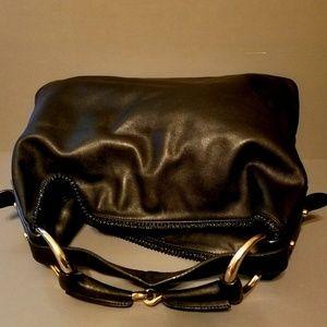 Gucci Bags - $1800 GUCCI All Leather Horsebit Hobo Bag